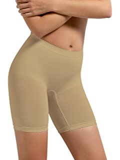 2884a42f99d08 SENSI  Thigh Slimmers Women s Firm Control Microfibre Seamless Sensì Made  in Italy