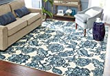 Mohawk Home Woodbridge Arranged Melody Floral Printed Area Rug, 7'6×10′, Blue Review