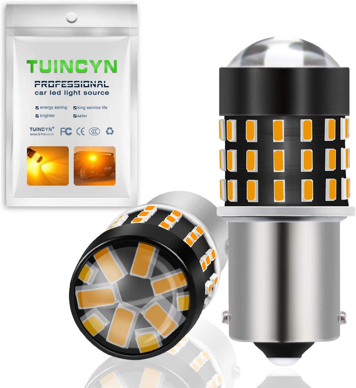 TUINCYN 3157 3156 LED Lampadina dei freni Super Bright 3056 3057 4157 4057 3157 T25 LED Lampadina 3014 54-EX Chipset Lampadina per segnali di svolta Luce Backup luce retromarcia DC 12V-24V Xenon White