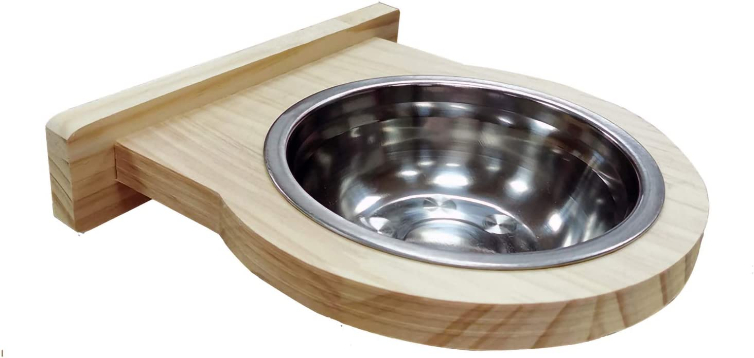 Hamiledyi Bird Food Bowl Stainless Steel-Clamp Holder Cage Bird Feeder Dish for Cockatiel Budgies Parrot