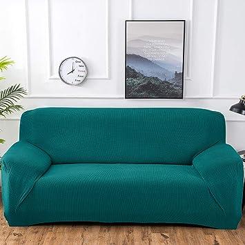 Espesar Alta elasticidad Sofá fundas,Moderno Protector de los muebles para mascotas perro Color sólido