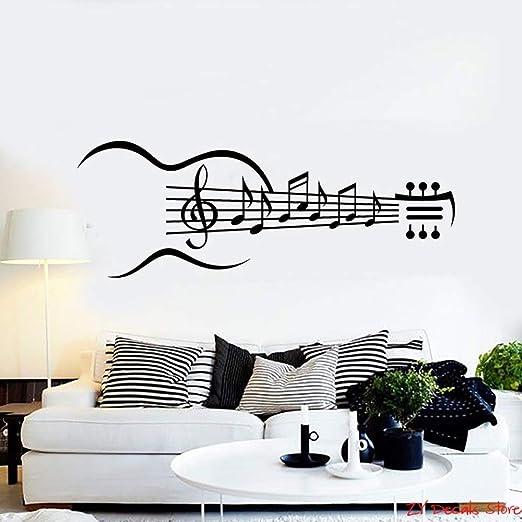 Geiqianjiumai Notas Musicales Instrumento de Guitarra Notas ...