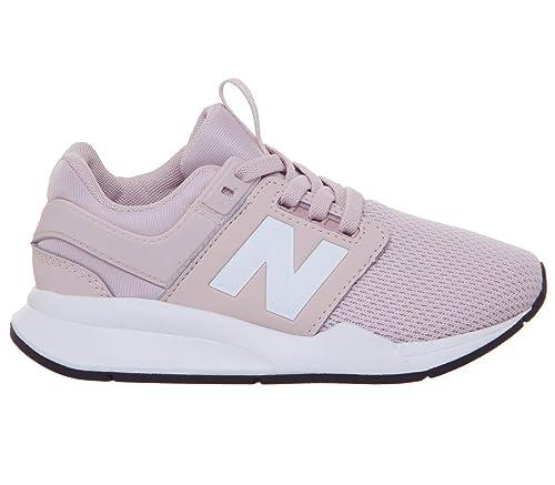 new balance niña rosa