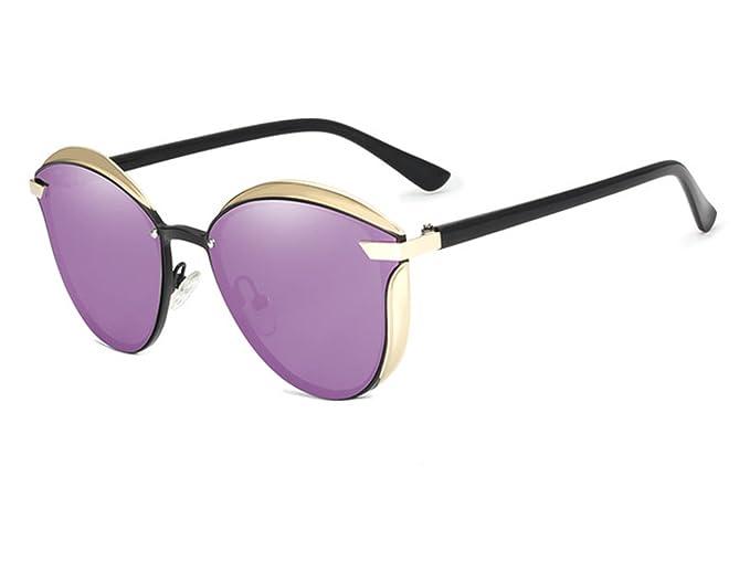 Gafas de Sol Espejo Polarizadas Elegantes Mujeres, Gafas de Sol Gradiente Polarizadas, Gafas de