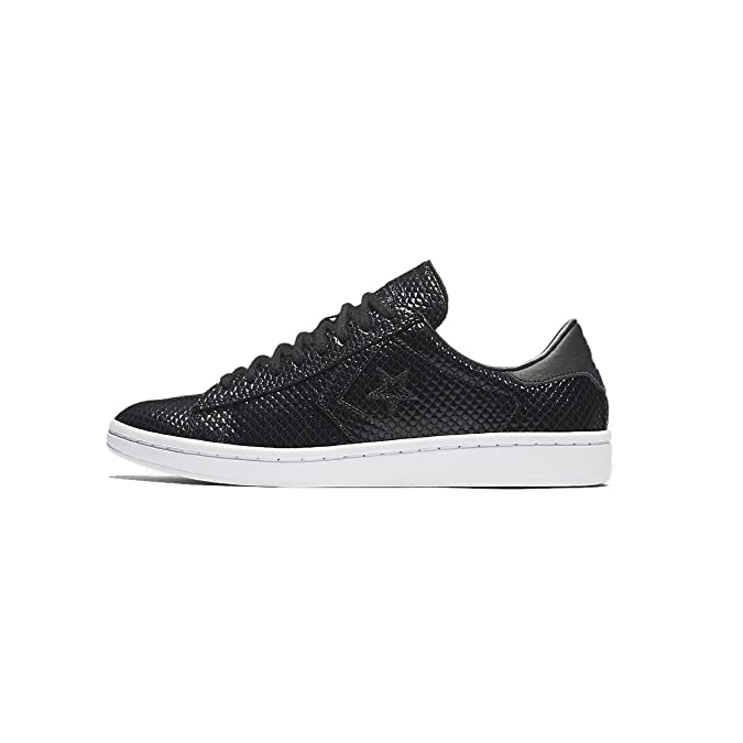 Converse CONS Pro Leather LP Scaled Sneakers Basses Femme Noir 37.5 jhQ6fpQ