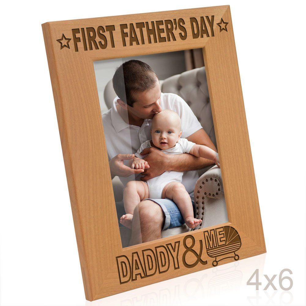 Shop amazon wall table top frames kate posh first fathers day with daddy me picture frame 4x6 vertical jeuxipadfo Images