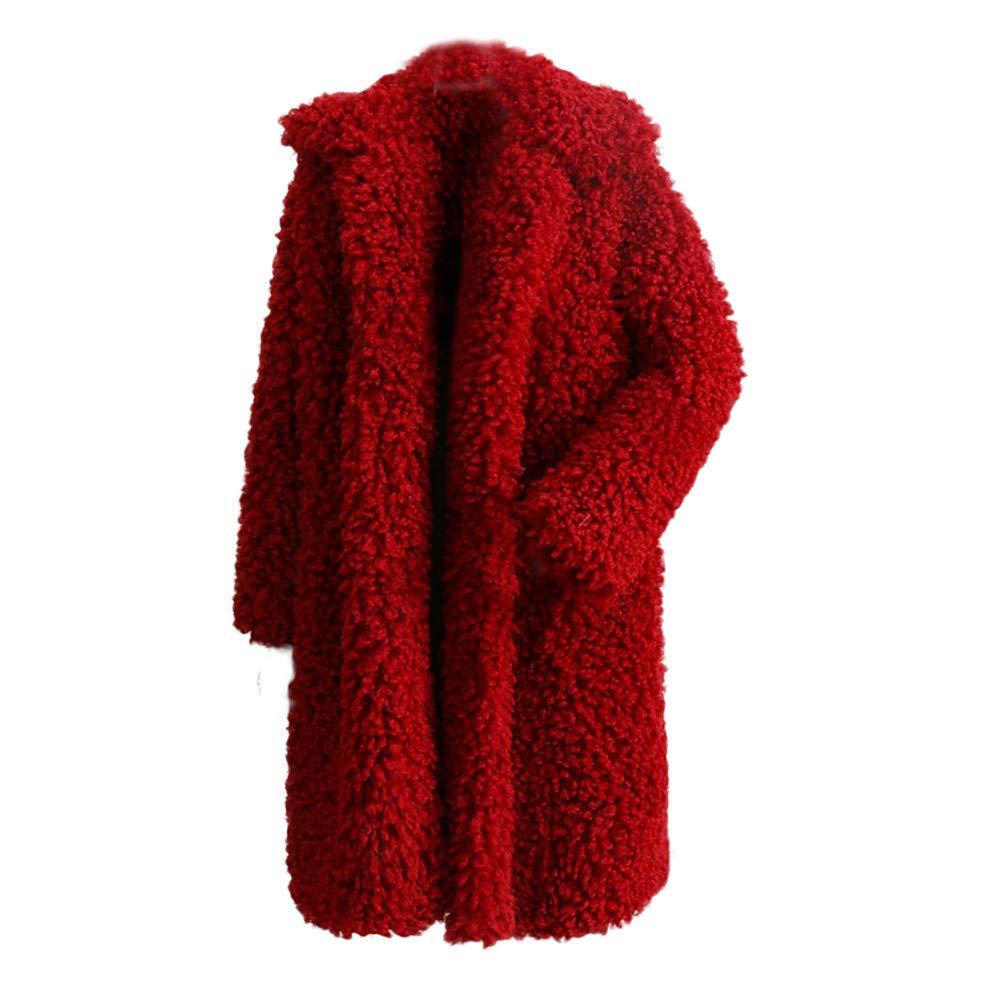★お求めやすく価格改定★ Seaintheson Women's OUTERWEAR Coats OUTERWEAR レディース B07HRFTT6V XX-Large|ワインレッド ワインレッド ワインレッド Women's XX-Large, インナーショップ Lumienne:85e570b0 --- beyonddefeat.com