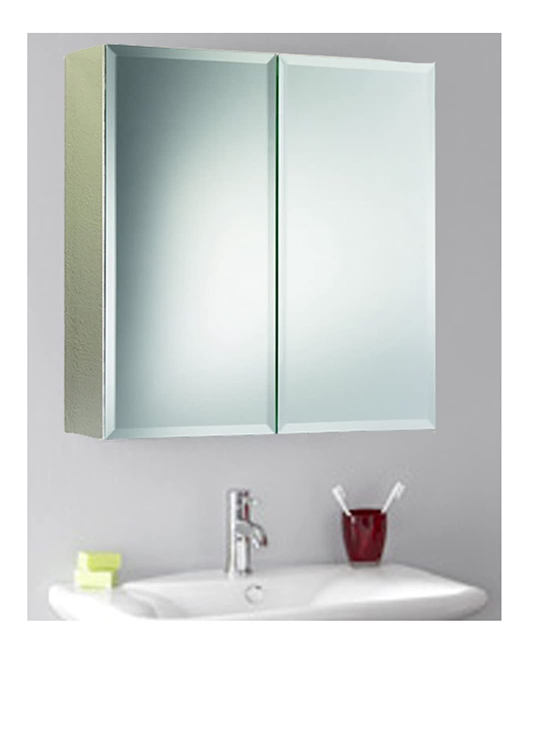 Wilko Bathroom Cabinet Stylish Double Door S S Wall Mirror Storage Bathroom Cabinet With