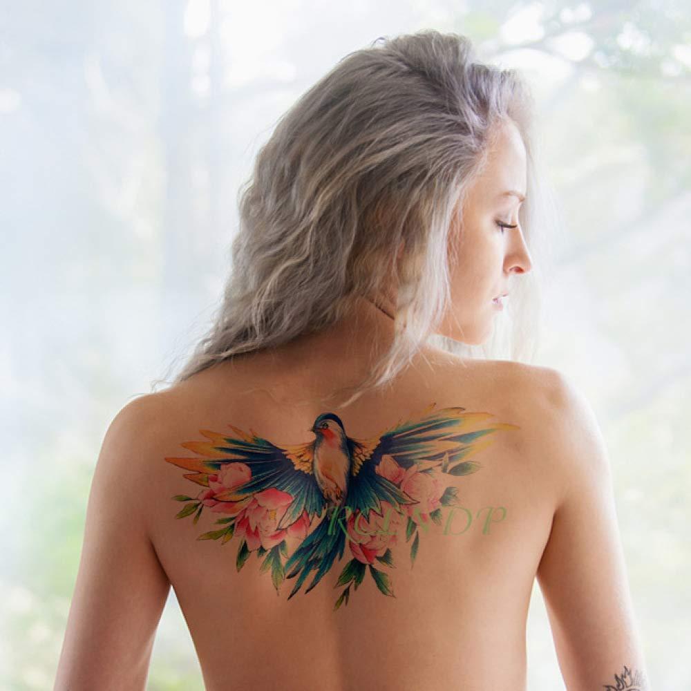 tzxdbh 3Pcs-Etiqueta engomada del Tatuaje Impermeable Moscas ...