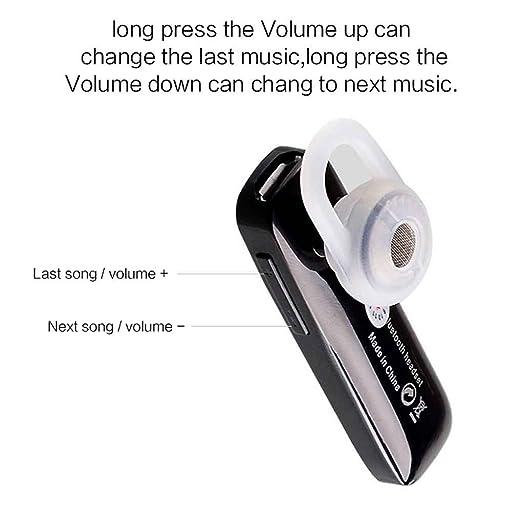 Providethebest Auriculares inalámbricos Bluetooth Mini en la oreja los auriculares con micrófono Auricular Auricular para Samsung iPhone 4 4s 5s 5 6 6s Plus ...