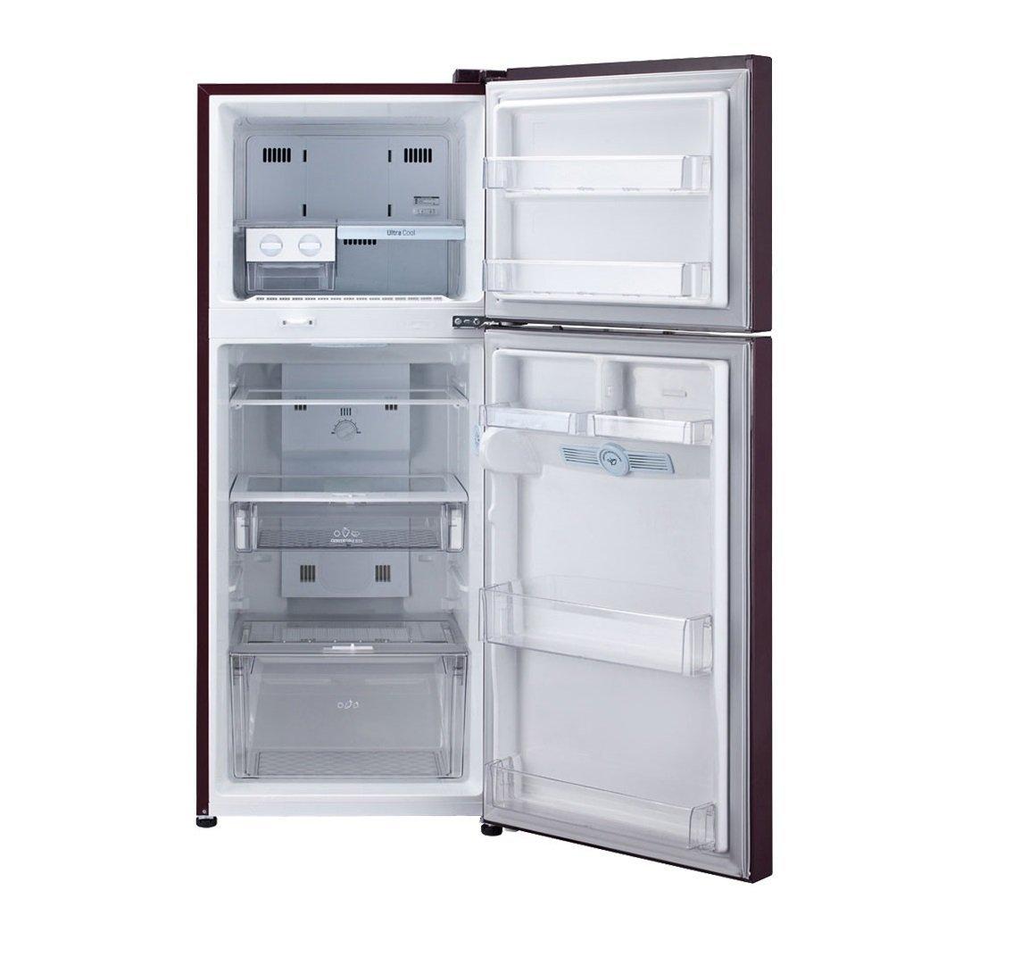 LG 258 L 4 Star Frost Free Double Door Refrigerator (GL D292JSFL, Scarlet  Florid): Amazon.in: Home U0026 Kitchen