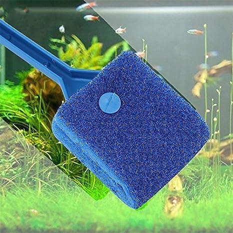 Zeagro - Cepillo de Limpieza para Acuario (2 Unidades, 40 cm, Cepillo de