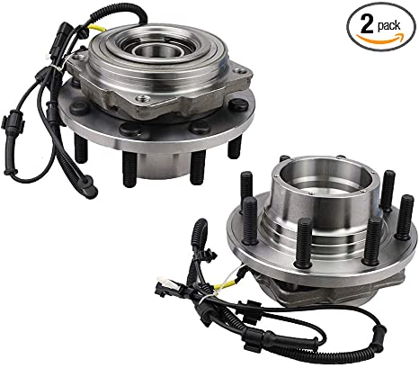 MACEL 515130 4x4 4WD Front Wheel Bearing Hub Assembly Compatible with 2011-2016 F-250 F-350 Super Duty