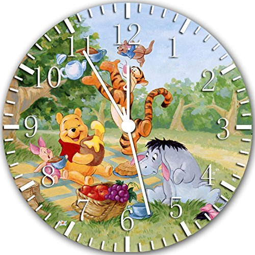 Winnie The Pooh Frameless Borderless Wall Clock Y28 Nice For Gift or Room Wall Decor