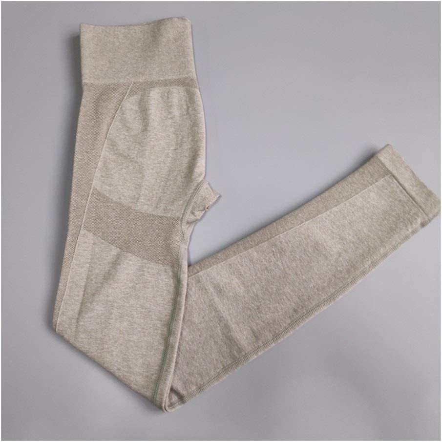 Gaodpz Pantalon de Yoga Femmes Édition Leggings sans Couture Pantalon de Yoga Sport Pantalons athlétique Fitness Leggings Sport Femmes Leggings Yoga Dark Grey