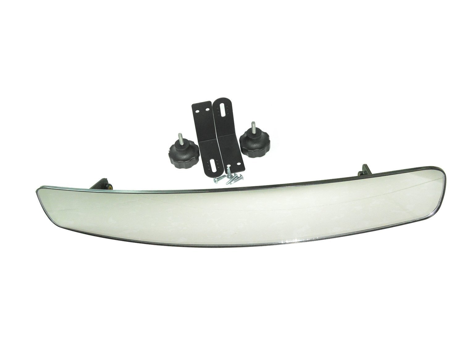 16.5'' Extra Wide Panoramic Rear View Mirror for Golf Carts Such As Ez Go, Club Car, Yamaha