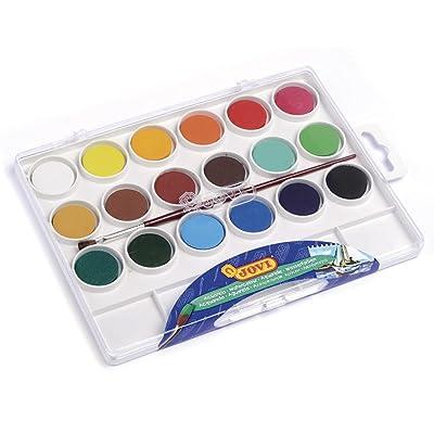 Jovi - Acuarelas, colores surtidos (800 18): Oficina y papelería