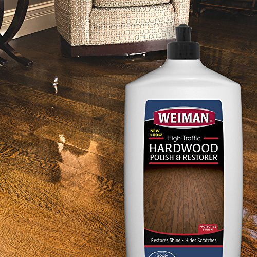 Weiman Wood Floor Polish And Restorer 32 Ounce High