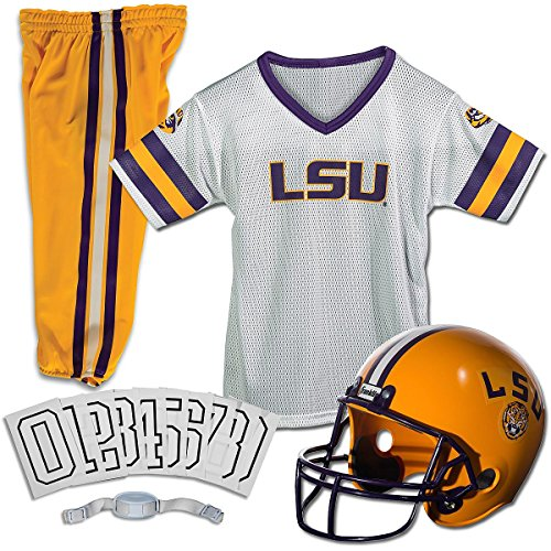Franklin NCAA Small LSU Tigers Deluxe Uniform Set