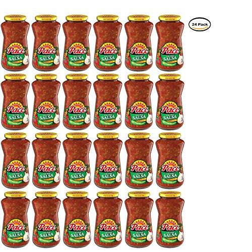 PACK OF 24 - Pace Chunky Salsa Medium, 16 oz. by Pace