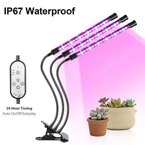 Luces de cultivo LED para la función de temporización de la ...