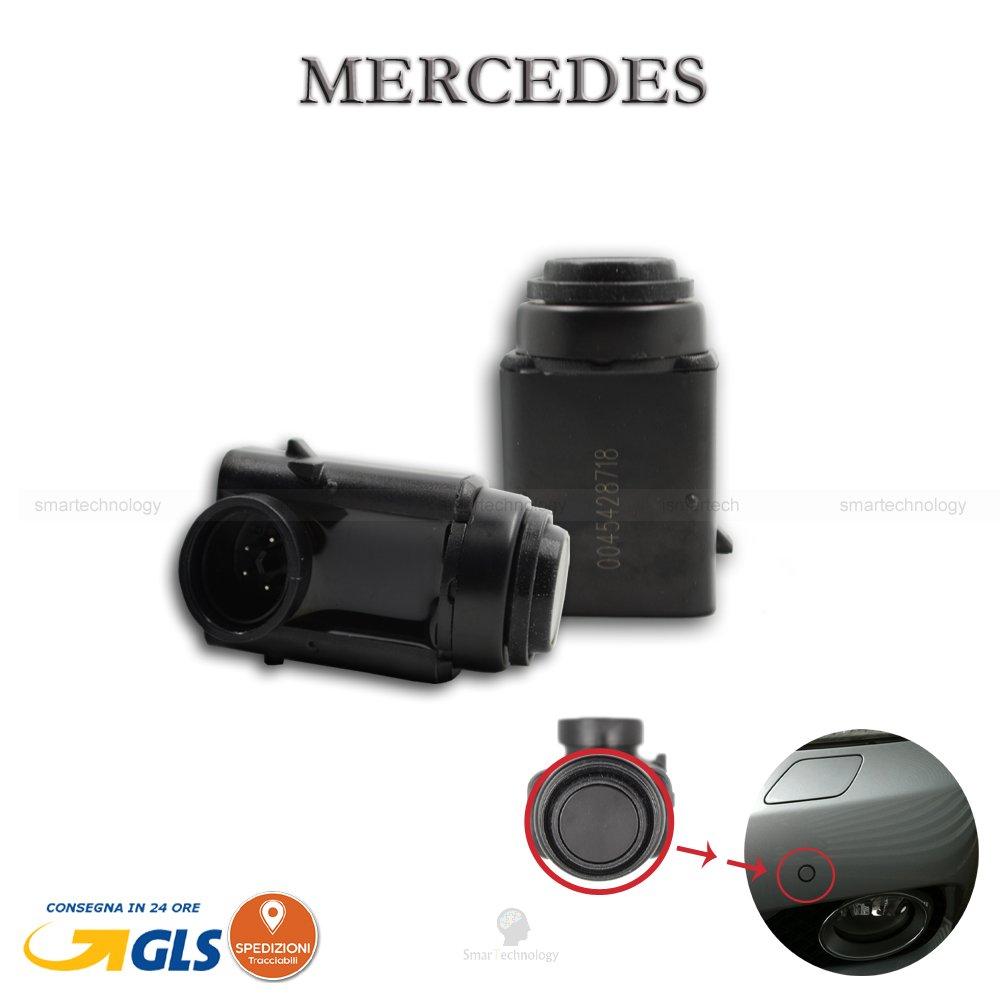 Capteurs de stationnement voiture Mercedes Classe à C et S M CLK SLK vaneo Vito Sprinter Capteur Parking OEM 00154274180045428718avant arrière Ismartech