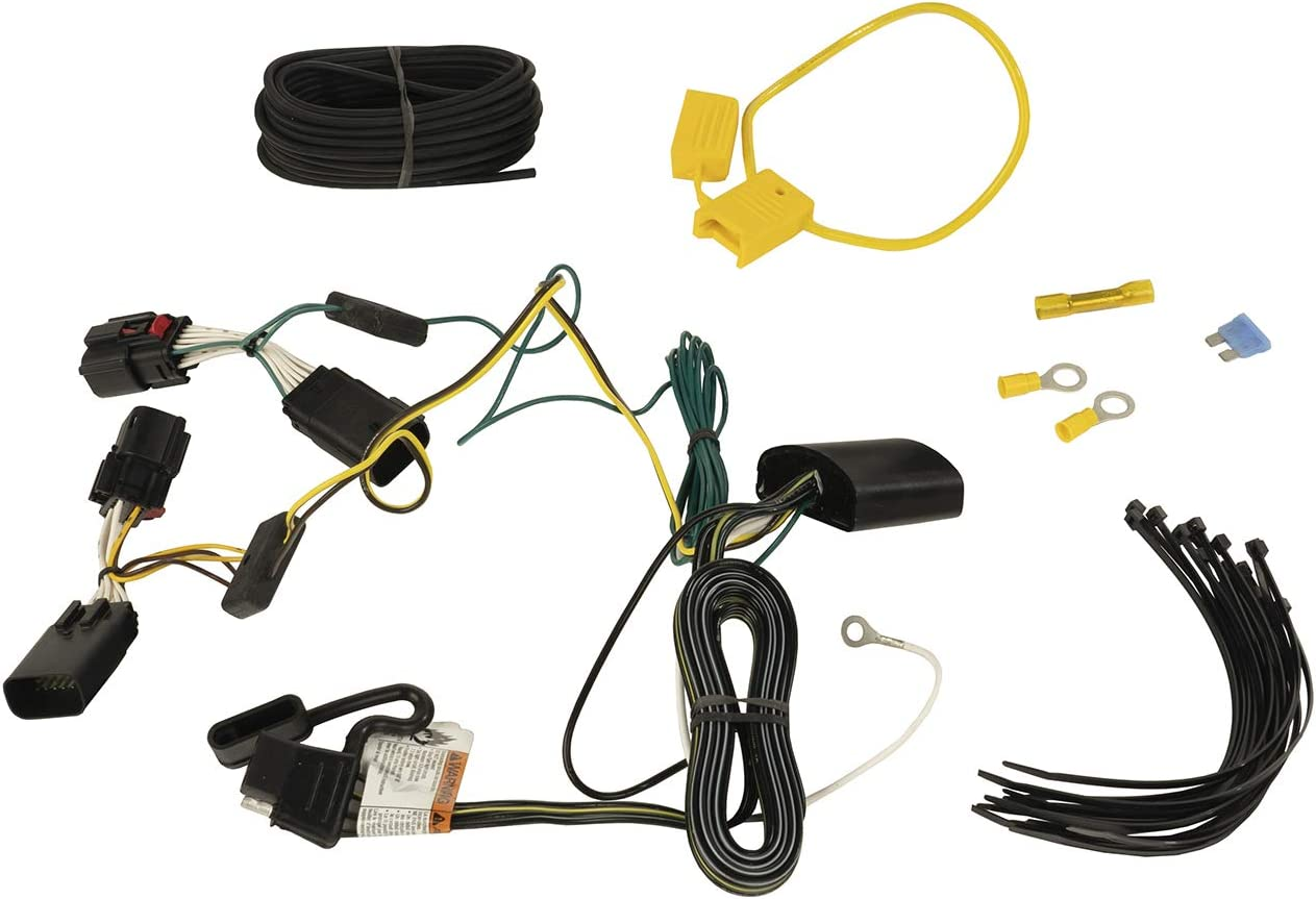 Rugged Ridge 17275.01 Tow Wire Harness 4Way Jk