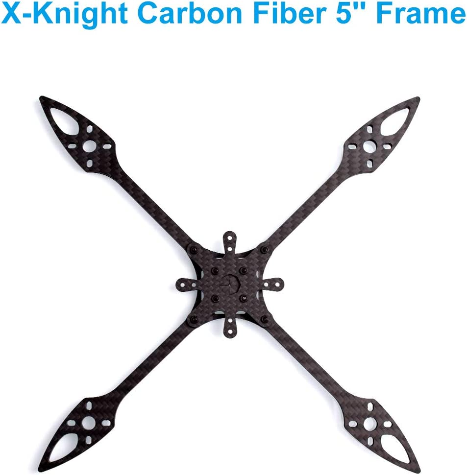 BETAFPV X-Knight 200mm Toothpick Frame 5 Inch T700 Carbon Fiber FPV Quacopter Frame Kit for F4 AIO 20A FC 5 Inch FPV Toothpick Quad