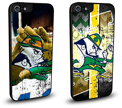 Notre Dame Fighting Irish Cell Phone Hard Case TWO PACK f...