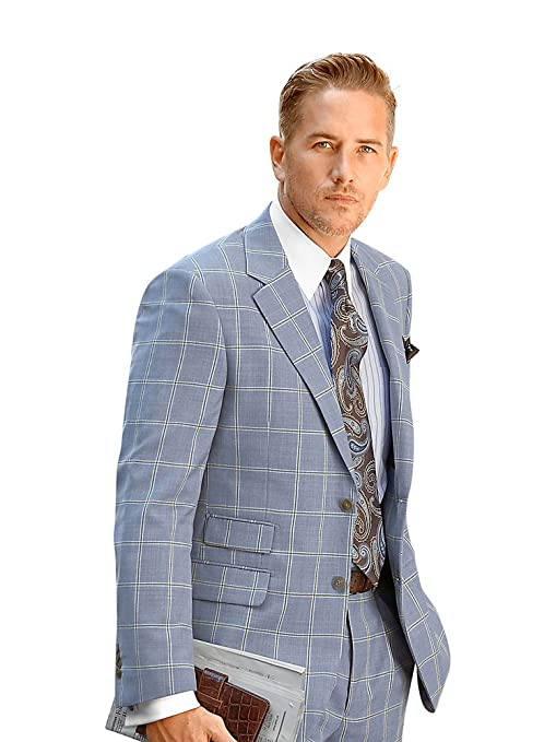 1920s Mens Suits Paul Fredrick Mens Super 100s Wool Suit Jacket $254.99 AT vintagedancer.com