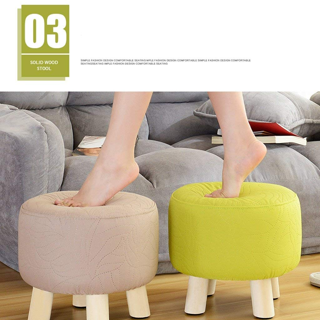 B EU90 EU90 EU90 Small stool solid wood stool shoe bench stool sofa chair coffee table pier  small stool (color   D) 2899fc