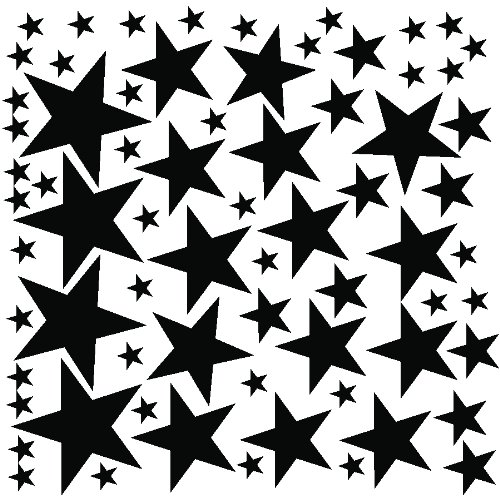 68-star-stickers-removable-star-wall-decal-black
