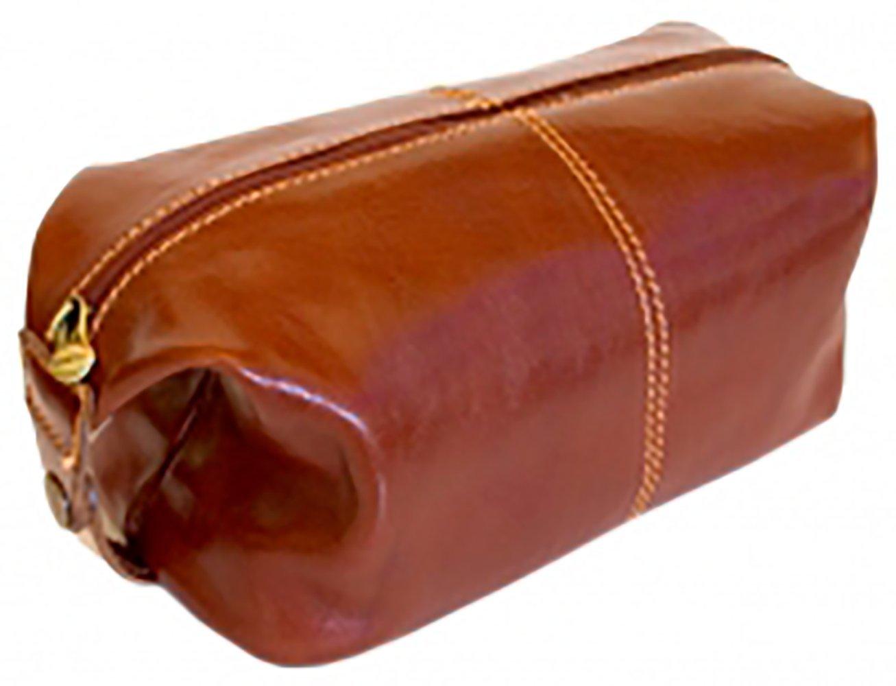 [Custom]Floto Unisex Venezia Travel Dob Kit in Brown