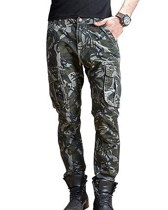 ADELINA Pantalones De Camuflaje Militares Pantalones De Chándal De ...