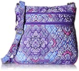 Vera Bradley Triple Zip Hipster, Lilac Tapestry