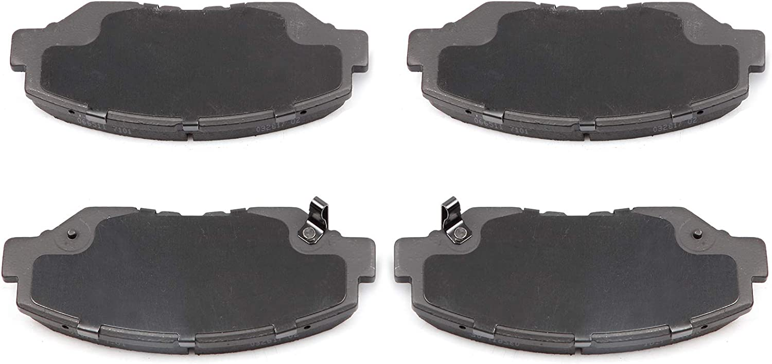For ILX Accord CR-V Civic Element Fit Pilot Bosch Front Disc Brake Pad Set New