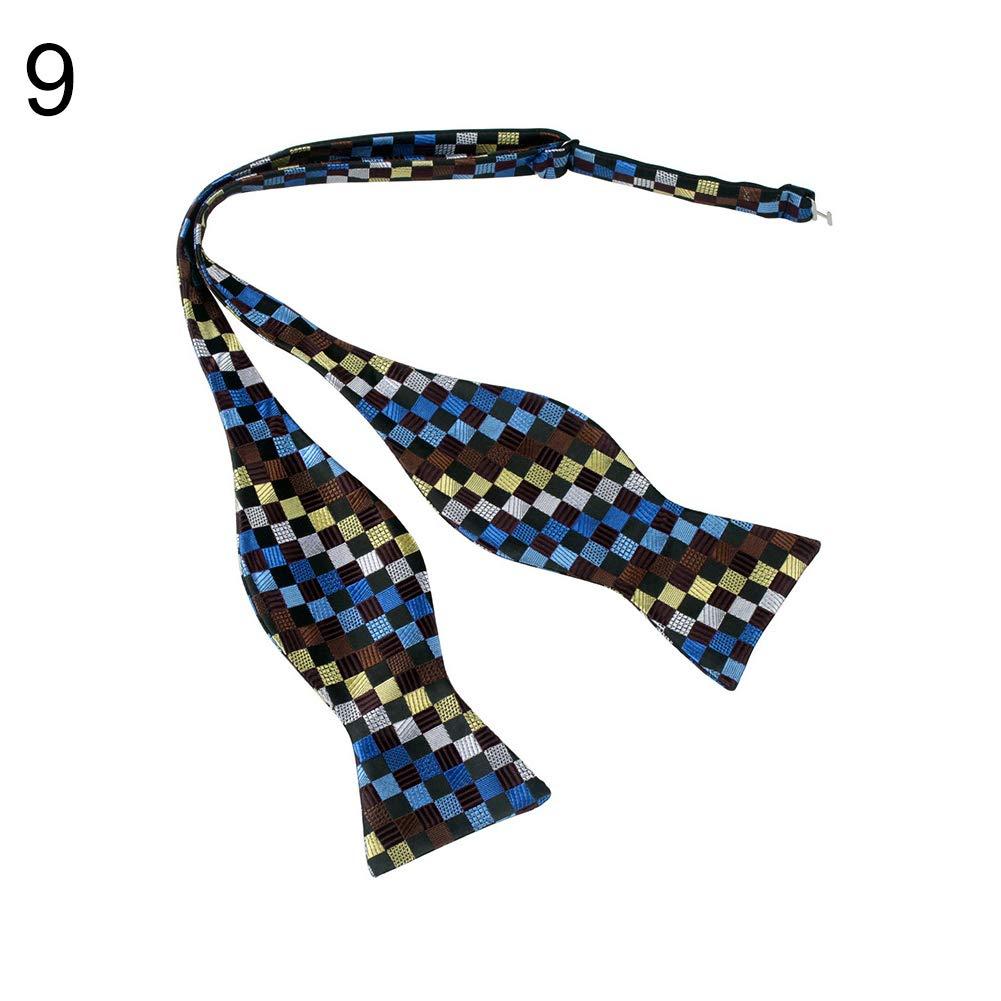 yanbirdfx Men Adjustable Self Bow Ties Necktie Neckwear Business Wedding Party Supplies - 12 by yanbirdfx (Image #9)