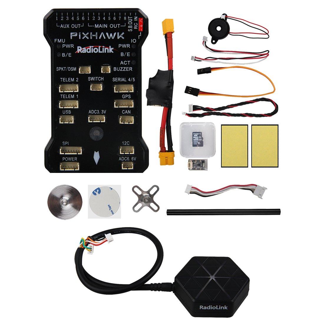 Amazon.com: RadioLink Pixhawk PX4 32 Bit ARM Flight Controller + ...