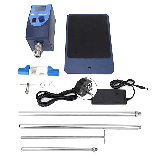Agitador superior, mezclador eléctrico de laboratorio, agitador ...