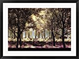 Picnic In Sonoma by Candace Tisch Framed Art Print Wall Picture, Black Frame, 35 x 26 inches