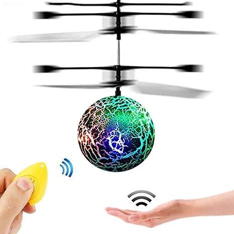 Weihnachtsgeschenke Für Jungs 16.Gzmy Led Blinkender Fliegenden Hubschrauber Spaß Spielzeug Geschenke