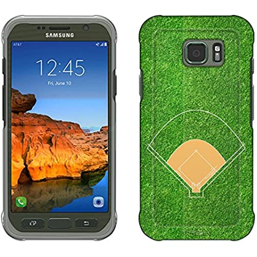 Samsung Galaxy S7 Active Case, Snap On Cover by Trek Baseball Field Slim Case Sales
