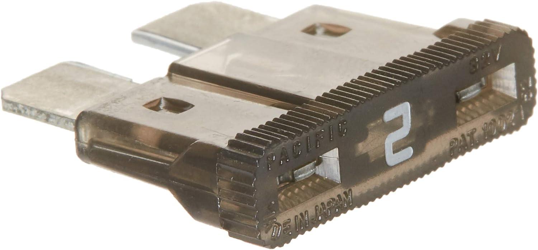 Card Bussmann BP//ATC-2-RP ATC Automotive Blade Fuse 5 Pack 2 Amp