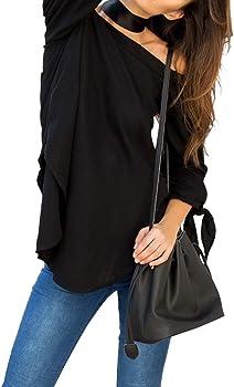 Blue Sacks Womens Penny Off Shoulder Blouse