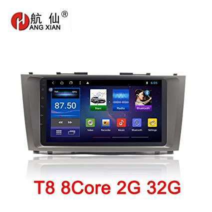 9 inch Android 8.1 Octa 8 Core 2G RAM 32G ROM Car DVD Player for Toyota