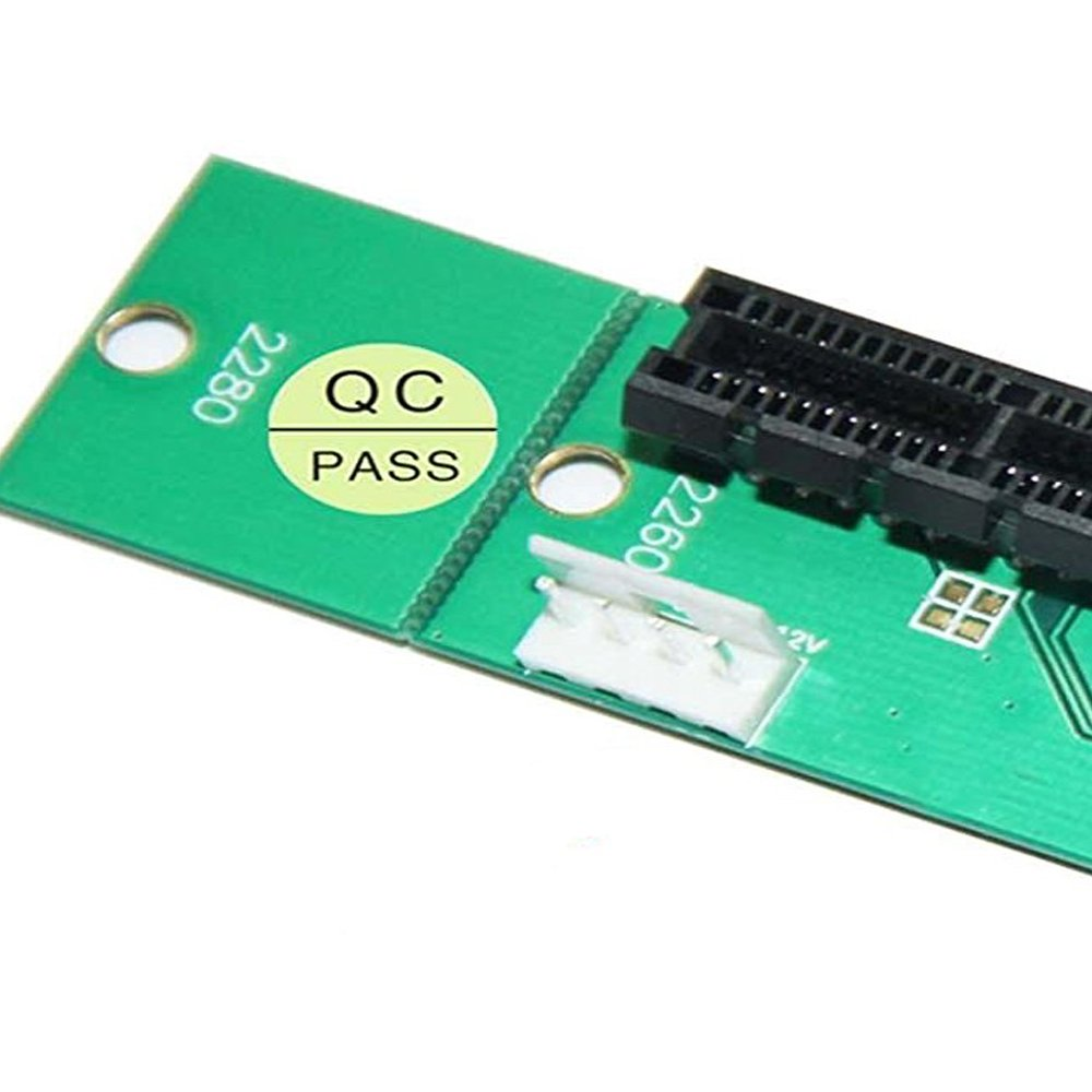 PCI-e 1X/4X Card to NGFF M.2 M Key PCIe Slot Adapter by Timack (Image #6)