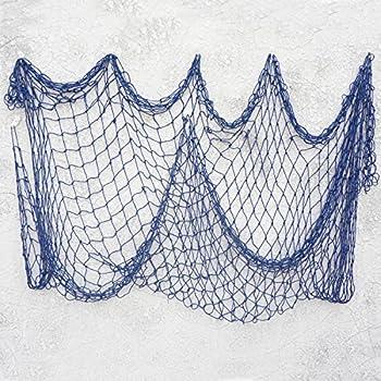 amazon com bilipala decorative fish netting fishing net decor