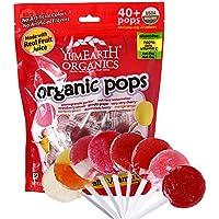 美国亚美滋Yummy Earth 8种混装口味棒棒糖40+支 (进口)洋品行 进口糖果