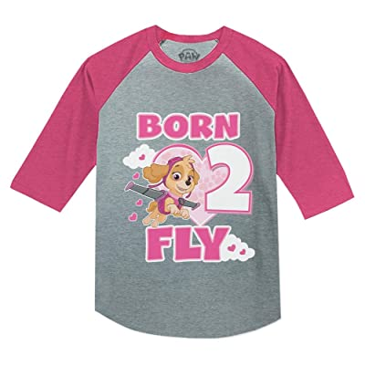 Paw Patrol Pups Dark Pink 2 Licensed Tee T-Shirt Kids