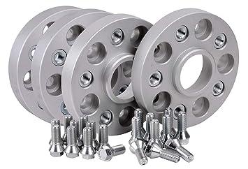 inkl Spurverbreiterung Aluminium 4 St/ück 30 mm pro Scheibe // 60 mm pro Achse T/ÜV-Teilegutachten~